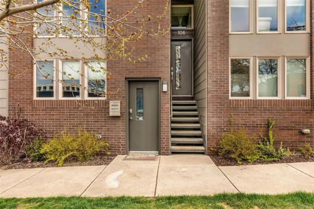 3400 Larimer Street #106, Denver, CO 80205 (MLS #5222651) :: 8z Real Estate
