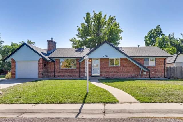 6722 W 67th Avenue, Arvada, CO 80003 (MLS #5222885) :: 8z Real Estate