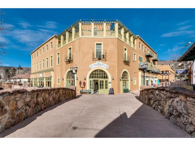 934 Manitou Avenue #308, Manitou Springs, CO 80829 (MLS #5224830) :: 8z Real Estate