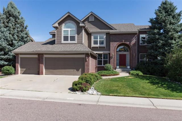 819 Huntington Drive, Highlands Ranch, CO 80126 (#5228538) :: The Peak Properties Group