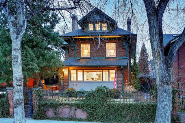 714 Humboldt Street, Denver, CO 80218 (#5232880) :: The Peak Properties Group