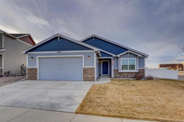 413 Ptarmigan Street, Severance, CO 80550 (#5233124) :: The Heyl Group at Keller Williams