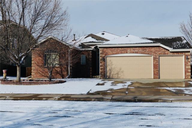 17529 E Hawksbead Drive, Parker, CO 80134 (#5233745) :: The HomeSmiths Team - Keller Williams