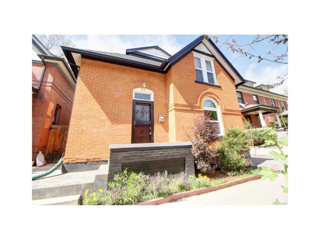817 E 10th Avenue, Denver, CO 80218 (MLS #5235973) :: 8z Real Estate