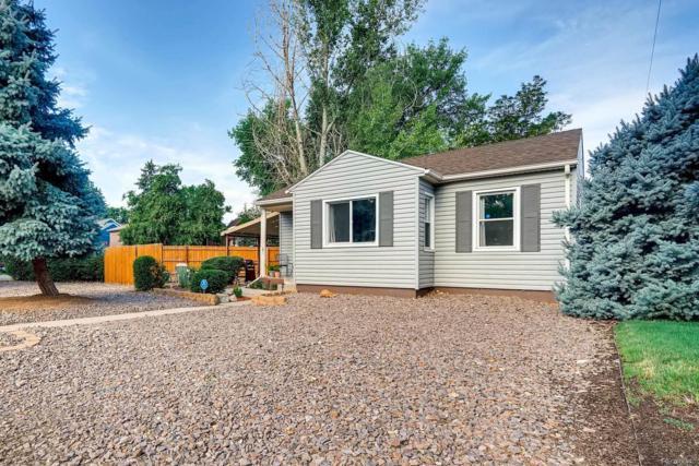 2595 S Washington Street, Denver, CO 80210 (#5236858) :: Sellstate Realty Pros