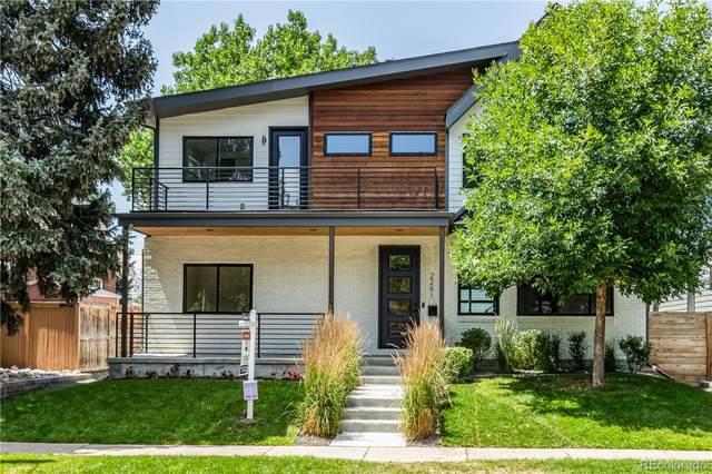 2261 S Ogden Street, Denver, CO 80210 (#5238001) :: The HomeSmiths Team - Keller Williams