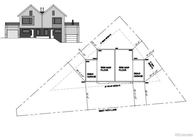 8171-8173 W 54th Lane, Arvada, CO 80002 (#5241285) :: The DeGrood Team