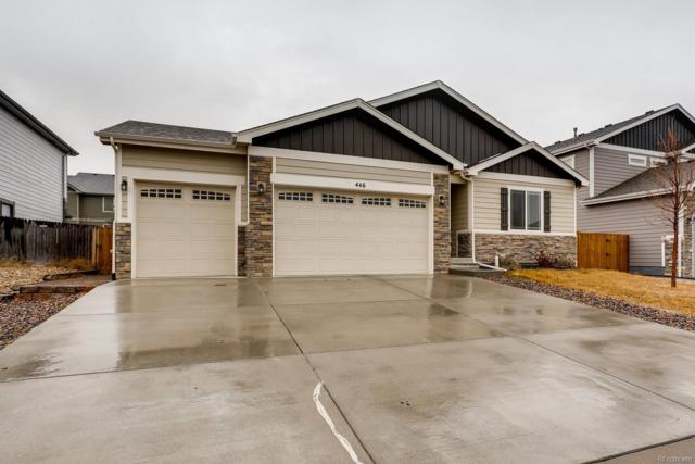 446 Heritage Lane, Johnstown, CO 80534 (#5251335) :: The Griffith Home Team