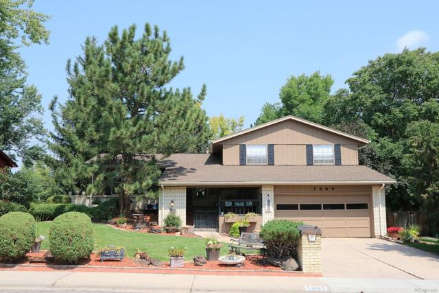 5889 W Fair Drive, Littleton, CO 80123 (#5252642) :: The Griffith Home Team