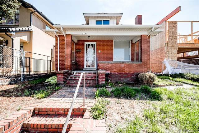 506 Milwaukee Street, Denver, CO 80206 (#5255417) :: Venterra Real Estate LLC