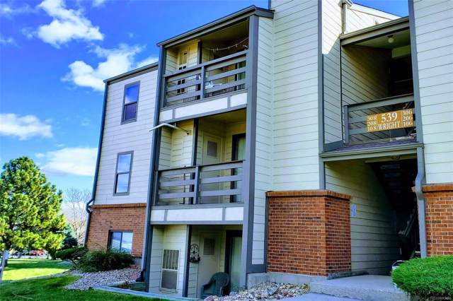 539 Wright Street #208, Lakewood, CO 80228 (#5266330) :: True Performance Real Estate
