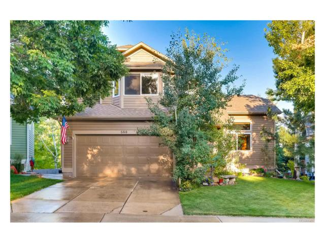 588 Spruce Circle, Louisville, CO 80027 (MLS #5268652) :: 8z Real Estate
