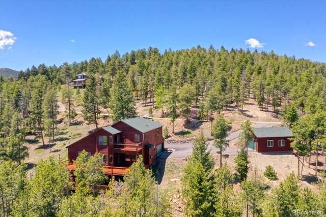 6974 Woodchuck Way, Evergreen, CO 80439 (#5272134) :: iHomes Colorado