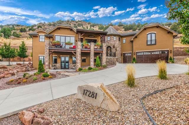 17281 Snowcreek Lane, Morrison, CO 80465 (#5272440) :: Peak Properties Group