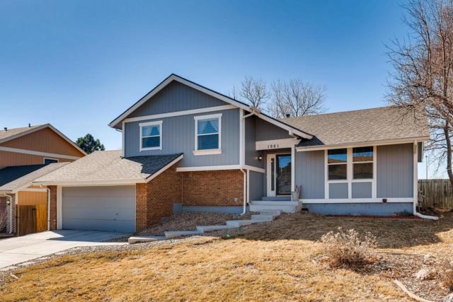 1961 S Pagosa Street, Aurora, CO 80013 (MLS #5278381) :: Kittle Real Estate