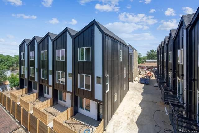 4925 W 10th Avenue #108, Denver, CO 80204 (#5287509) :: iHomes Colorado