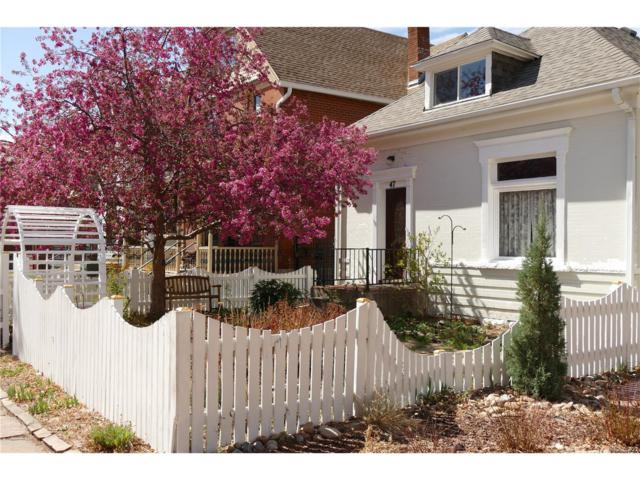47 N Grant Street, Denver, CO 80203 (MLS #5291813) :: 8z Real Estate