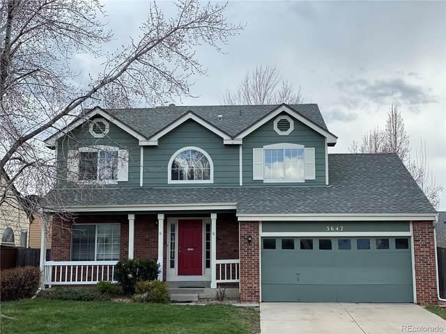 3647 Rosewalk Circle, Highlands Ranch, CO 80129 (#5292603) :: The Peak Properties Group