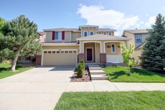 16710 E 104th Place, Commerce City, CO 80022 (#5292698) :: The Pete Cook Home Group