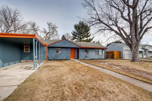 3164 S Forest Street, Denver, CO 80222 (#5293412) :: The Peak Properties Group