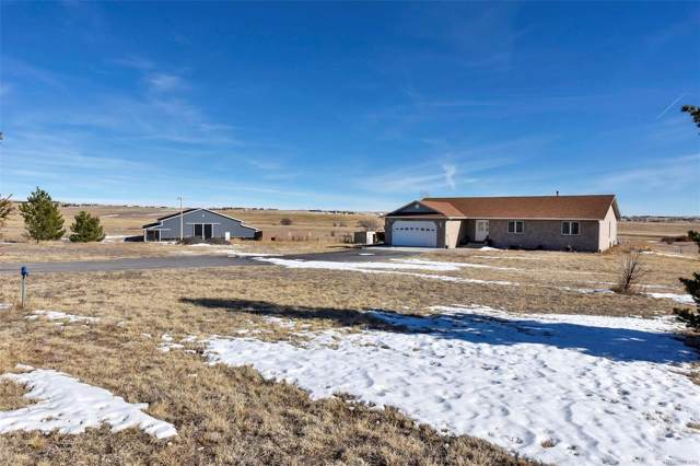 12575 Mcclelland Road, Calhan, CO 80808 (#5293567) :: Mile High Luxury Real Estate