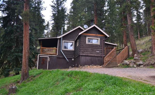 7040 S Blue Creek Road, Evergreen, CO 80439 (#5294023) :: The DeGrood Team