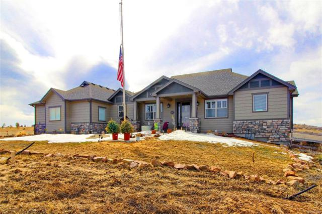 665 Willow Run Circle, Elizabeth, CO 80107 (#5303775) :: The Healey Group