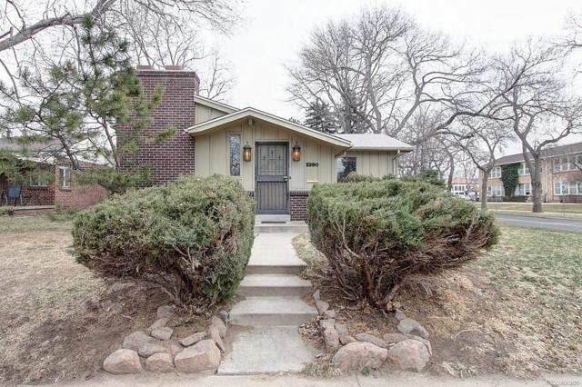 2290 S Saint Paul Street, Denver, CO 80210 (#5306617) :: Structure CO Group