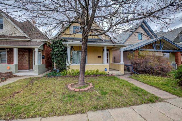 434 S Grant Street, Denver, CO 80209 (#5307465) :: The Dixon Group