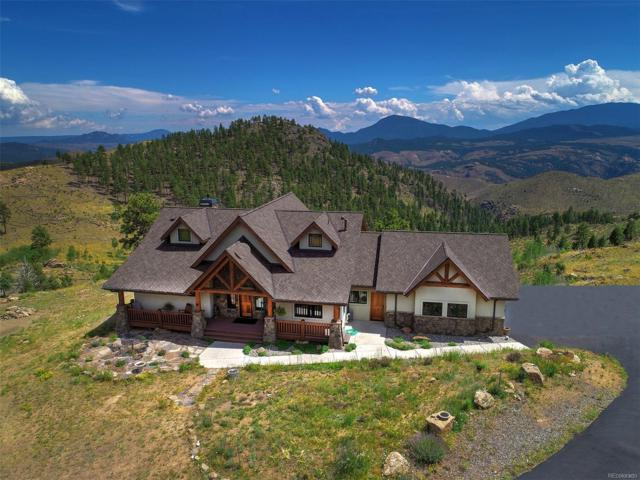 15065 Wetterhorn Peak Trail, Pine, CO 80470 (#5315210) :: Bring Home Denver