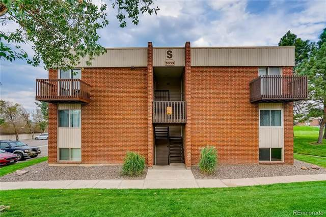 3633 S Sheridan Boulevard #22, Lakewood, CO 80235 (#5316478) :: Chateaux Realty Group