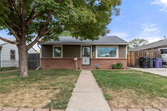 846 S Raleigh Street, Denver, CO 80219 (#5320219) :: The Griffith Home Team