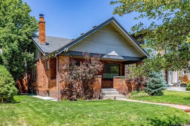 825 S Gaylord Street, Denver, CO 80209 (#5323960) :: Real Estate Professionals