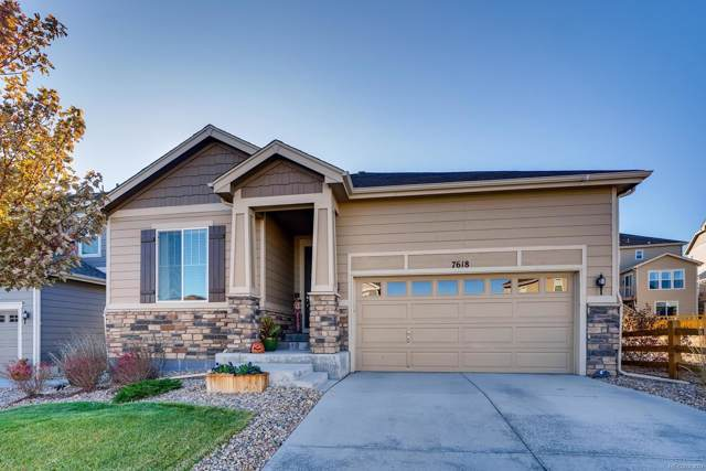 7618 Blue Water Lane, Castle Rock, CO 80108 (#5328275) :: The Peak Properties Group