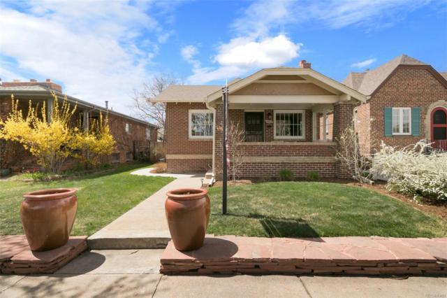 1963 S Sherman Street, Denver, CO 80210 (#5338609) :: The Peak Properties Group
