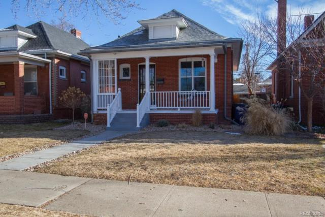 252 S Corona Street, Denver, CO 80209 (#5341620) :: The City and Mountains Group