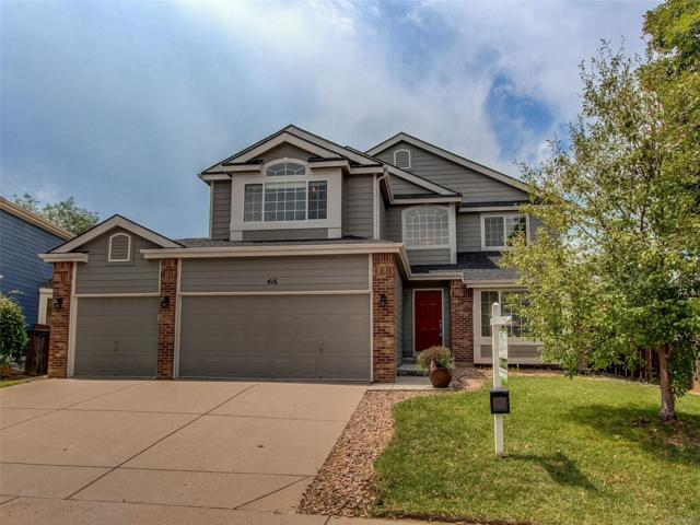 416 Bexley Street, Highlands Ranch, CO 80126 (#5341668) :: House Hunters Colorado