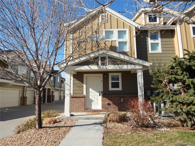 11935 Riverstone Circle 6F, Commerce City, CO 80640 (#5342620) :: HomeSmart Realty Group