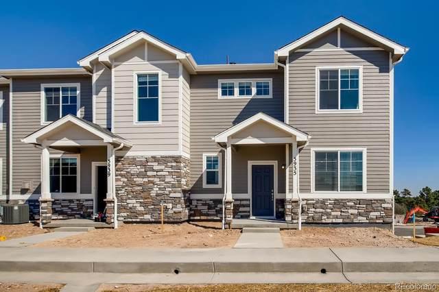5518 Canyon View Drive #32, Castle Rock, CO 80104 (MLS #5344511) :: 8z Real Estate