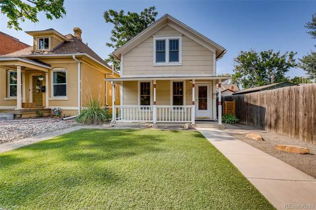 3217 W 22nd Avenue, Denver, CO 80211 (MLS #5345767) :: Clare Day with Keller Williams Advantage Realty LLC