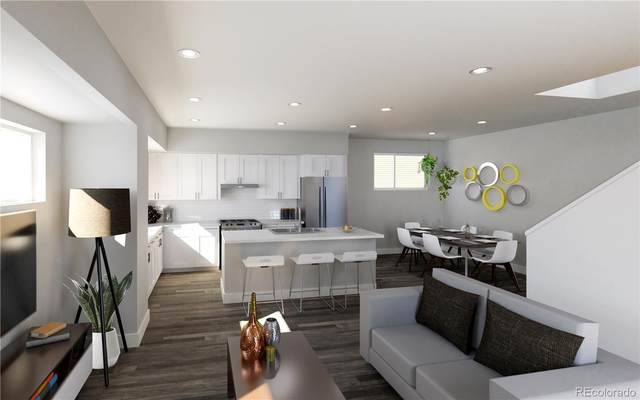 3820 Olive Street #4, Denver, CO 80207 (#5351033) :: The Griffith Home Team