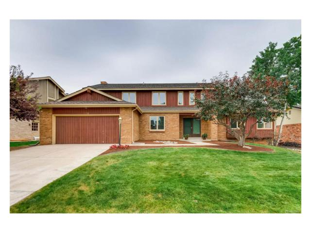 7736 S Madison Circle, Centennial, CO 80122 (#5354053) :: The Peak Properties Group