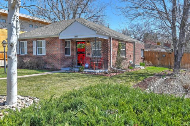 1100 Leyden Street, Denver, CO 80220 (#5357155) :: Wisdom Real Estate