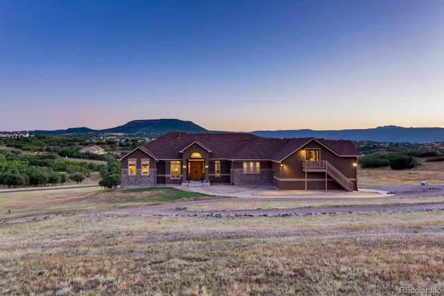 3142 Castle Butte Drive, Castle Rock, CO 80109 (MLS #5360270) :: Kittle Real Estate