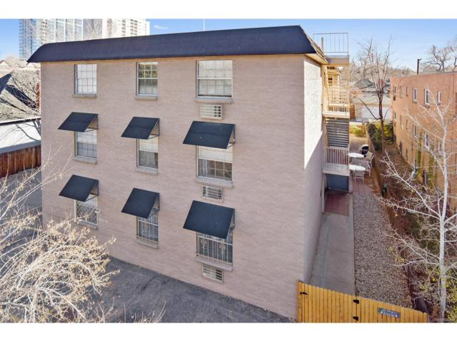 148 S Emerson Street #104, Denver, CO 80209 (#5360636) :: Wisdom Real Estate