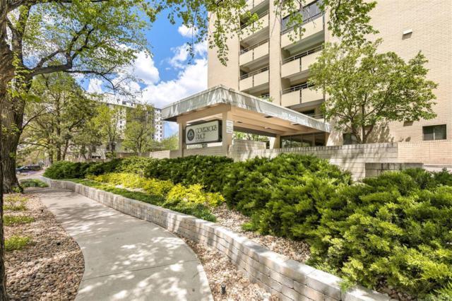 800 Pearl Street #309, Denver, CO 80203 (#5361051) :: Bring Home Denver with Keller Williams Downtown Realty LLC