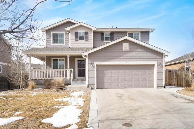 437 Hedgerow Way, Brighton, CO 80601 (MLS #5365109) :: Bliss Realty Group