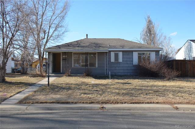 3691 Pontiac Street, Denver, CO 80207 (#5369349) :: The DeGrood Team