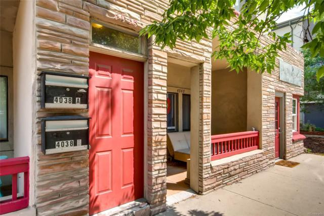 4038 Tejon Street A, Denver, CO 80211 (#5369678) :: The Pete Cook Home Group