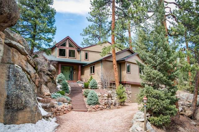 107 Yankee Creek Road, Evergreen, CO 80439 (MLS #5375668) :: The Sam Biller Home Team